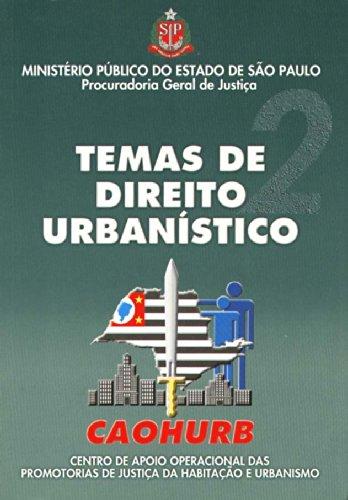 Temas de Direito Urbanístico 2, livro de José Carlos de Freitas