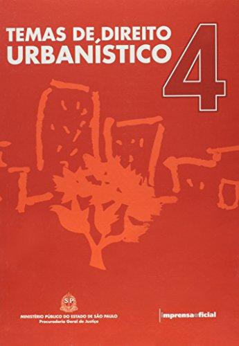 Temas de Direito Urbanístico 4, livro de Daniel Roberto Fink (coordenação)