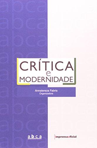 Crítica e Modernidade, livro de Anatresa Fabris