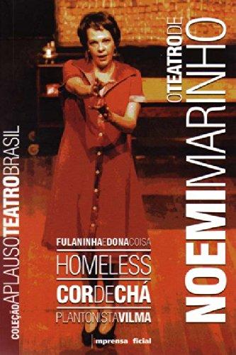 Coleção Aplauso Teatro Brasil: Noemi Marinho : O teatro de Noemi Marinho, livro de Noemi Marinho