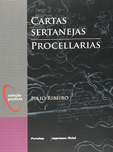 Cartas Sertanejas/Procellarias -  Coleção Paulista, livro de José Leonardo do Nascimento