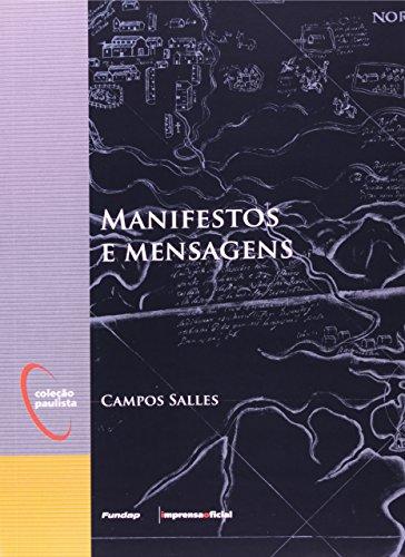 Manifestos e Mensagens - Coleção Paulista, livro de Campos Salles