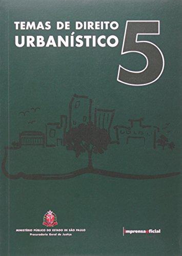 Temas de Direito Urbanístico 5, livro de Vários