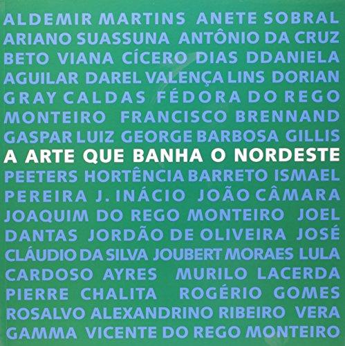 Arte que banha o Nordeste , A, livro de CARVALHO, Ana Cristina (org)