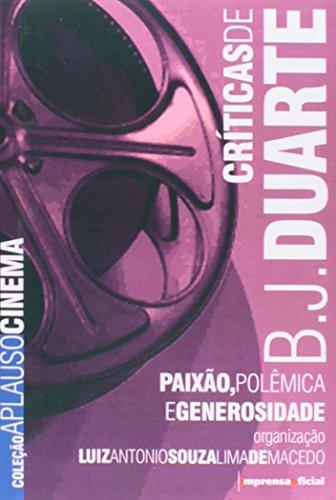 Coleção Aplauso Cinema Brasil: BJ Duarte, livro de Luiz Antonio Souza Lima de Macedo