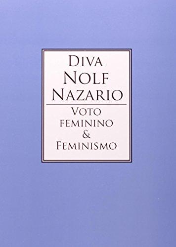 Voto feminino e feminismo, livro de NAZÁRIO, Diva Nolf