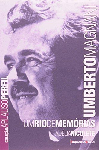 Coleção Aplauso Perfil: Umberto Magnani, livro de NICOLETE, Adélia