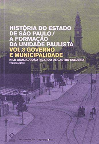 História do Estado de São Paulo - 3 Volumes, livro de Nilo Odalia, Joao Ricardo de Castro Caldeira
