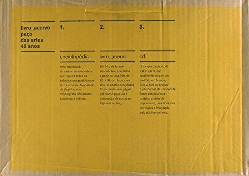 Acervo / Cadernos - Paço das Artes 40 anos, livro de Diversos Autores