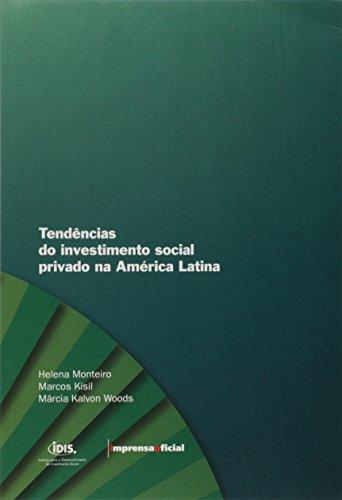 Tendências do Investimento social Privado na América Latina, livro de Diversos autores