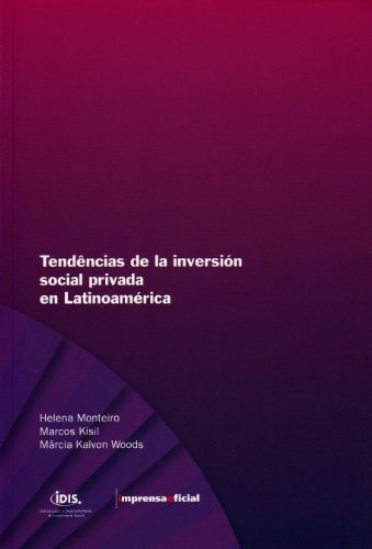Tendencias do Investimento Social Privado na America Latina(espanhol), livro de Diversos autores