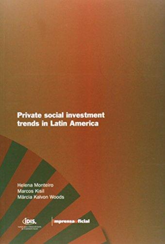 Tendencias do Investimento Social Privado na America Latina (inglês), livro de Diversos autores