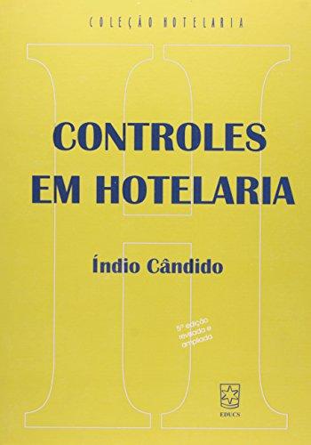 Controles em hotelaria, livro de Índio Cândido