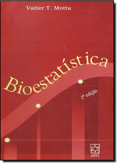 Bioestatística, livro de Valter Motta