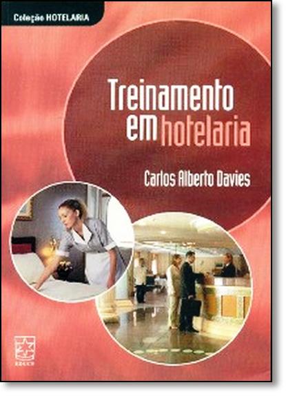 Treinamento em Hotelaria, livro de Carlos Alberto Davies