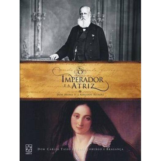 O imperador e atriz, livro de Angiolina D. Bragança