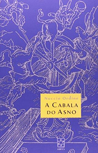 A Cabala Do Asno, livro de Nuccio Ordine