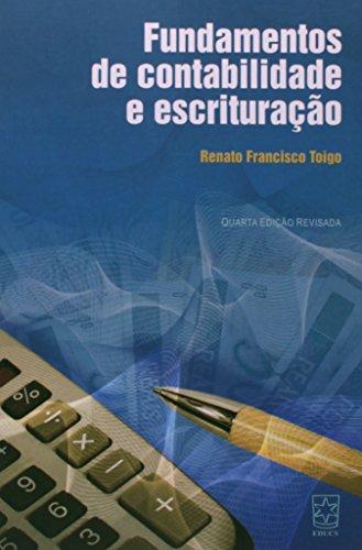 Fundamentos de contab. e escrituração - ESGOTADO, livro de Renato Francisco Toigo