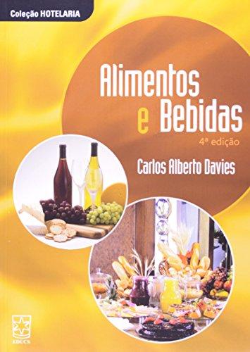 Alimentos e Bebidas, livro de Carlos Alberto Davies