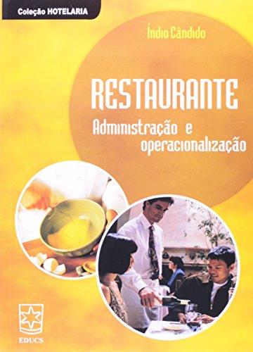 Restaurante: Administração e Operacionalização, livro de Índio Cândido