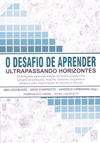 Desafio de aprender, livro de Ana L. Buogo, Diego Chiapinotto e Vanderlei Carbonara