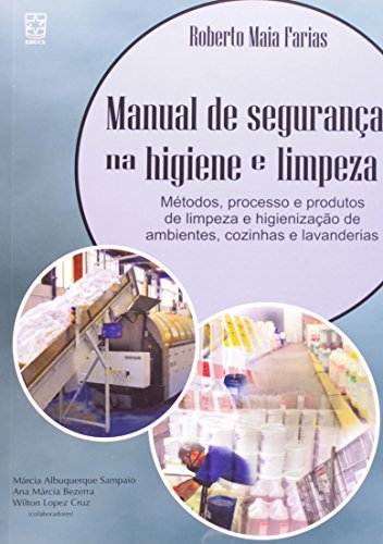 Manual de segurança na higiene e limpeza, livro de Roberto Maia Farias