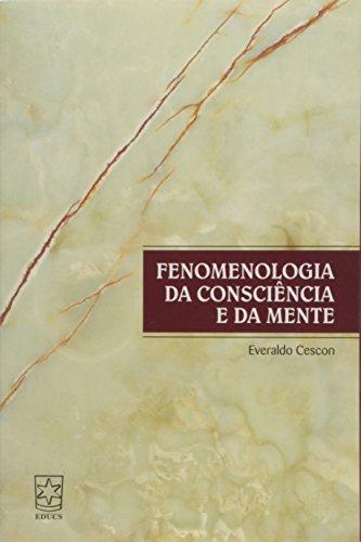 Fenomenologia da consciência e da mente, livro de Everaldo Cescon