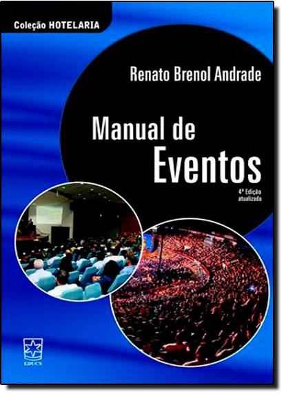 Manual de Eventos, livro de Renato Brenol Andrade