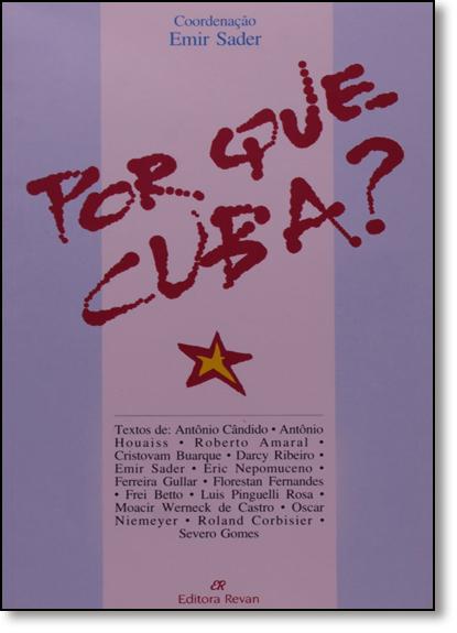 Por Que Cuba?, livro de Emir Sader