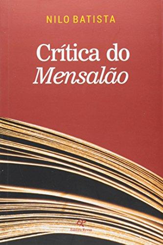 Crítica do Mensalão, livro de Nilo Batista