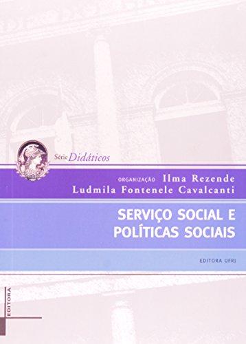 Serviço Social e Políticas Sociais, livro de Ilma Rezende, Ludmila Fontenele Cavalcanti