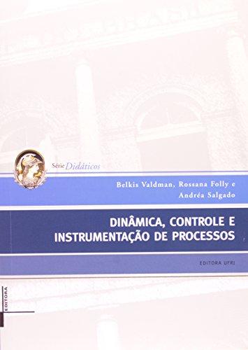 Dinâmica, controle e instrumentação de processos, livro de Belkis Valdman, Rossana Folly e Andréa Salgado