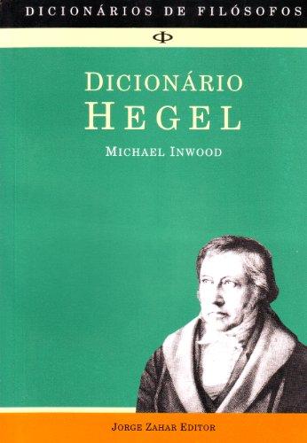 Dicionário Hegel, livro de Michael Inwood