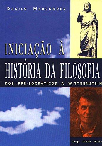 Iniciação À História Da Filosofia, livro de Danilo Marcondes