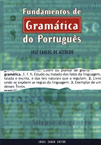 Fundamentos De Gramática Do Português, livro de José Carlos Santos de Azeredo