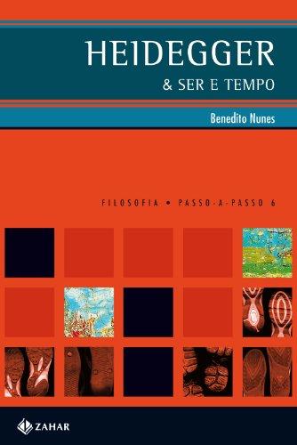 Heidegger & Ser e Tempo, livro de Benedito José Viana da Costa Nunes
