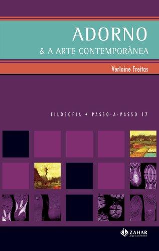 Adorno & a Arte Contemporânea, livro de Verlaine Freitas