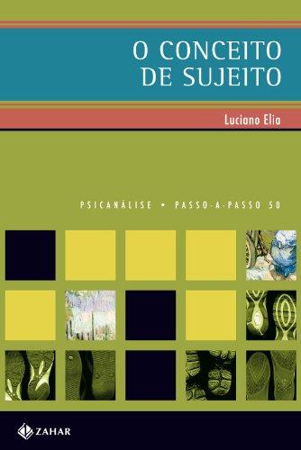 O Conceito de Sujeito, livro de Luciano da Fonseca Elia