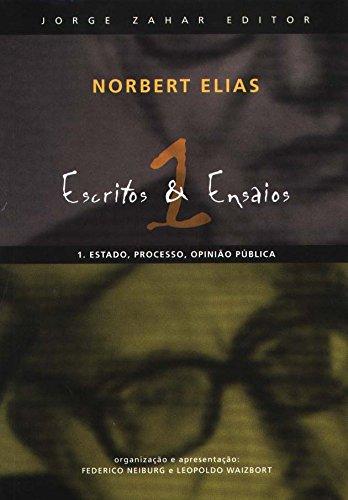 Escritos E Ensaios, livro de Norbert Elias