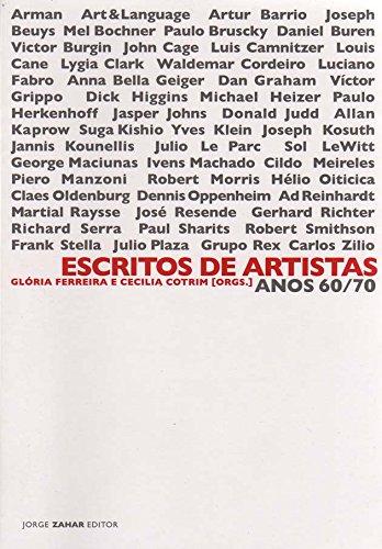 Escritos De Artistas, livro de Vários Autores