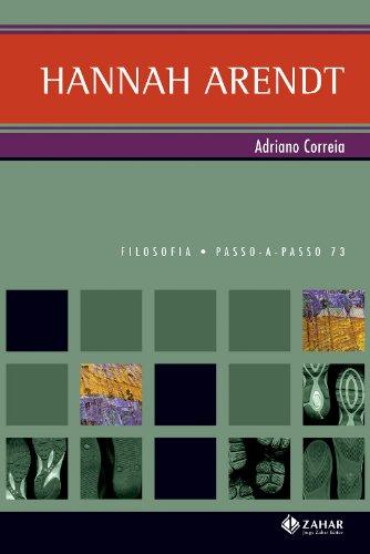 Hannah Arendt, livro de Adriano Correia