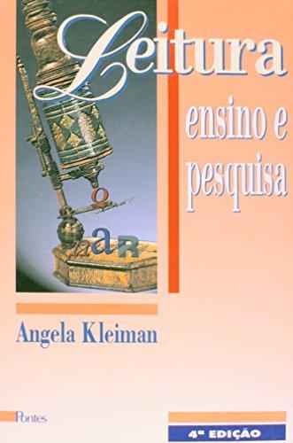 Leitura - Ensino e pesquisa, livro de Angela Kleiman