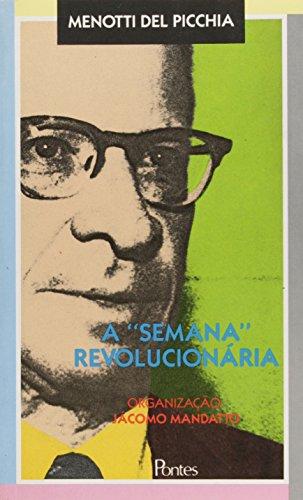 A Semana Revolucionária, livro de Menotti del Picchia