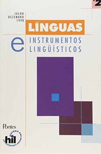 Linguas E Instrumentos Linguisticos - V.2, livro de