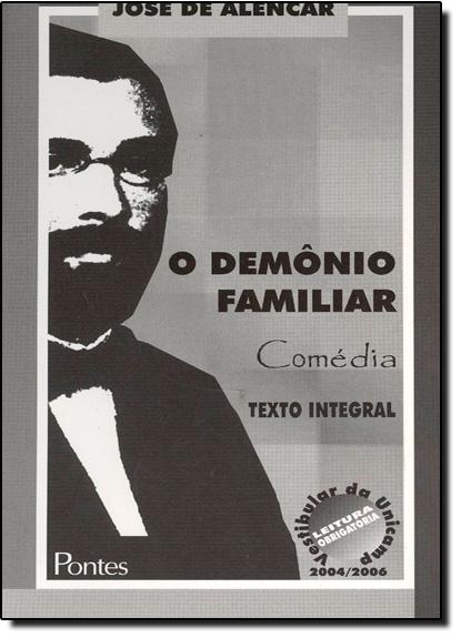 Demônio Familiar, O, livro de José de Alencar
