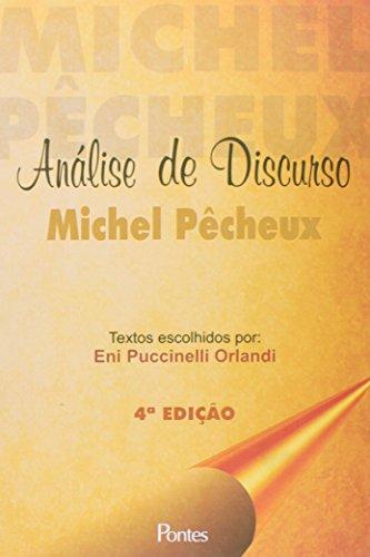 Análise de discurso - Michel Pêcheux, livro de Eni Puccinelli Oralndi