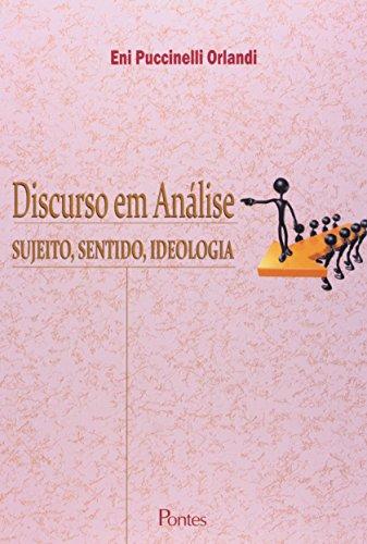 Discurso em Análise. Sujeito, Sentido, Ideologia, livro de Eni Puccinelli Orlandi