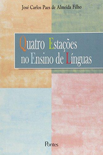 Quatro Estacoes No Ensino De Linguas, livro de