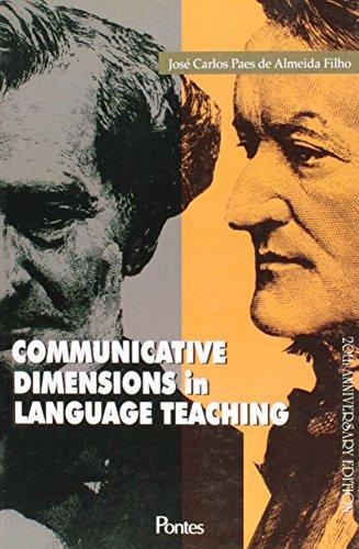 Communicative Dimensions In Language Teaching - Inglês, livro de José Carlos Paes de Almeida Filho