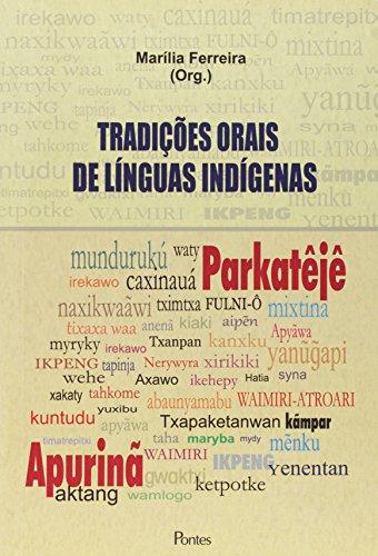 Tradições Orais de Línguas Indígenas, livro de Marília Ferreira